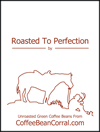 """Roasted to Perfection"" labels - 4 pack RTPLABELS"