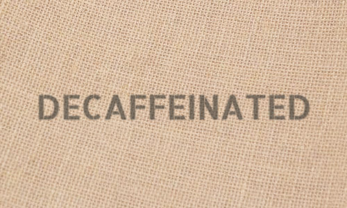 Decaffeinated Green Coffee Beans