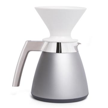 Brushed Stainless Thermal Carafe w/ Dripper