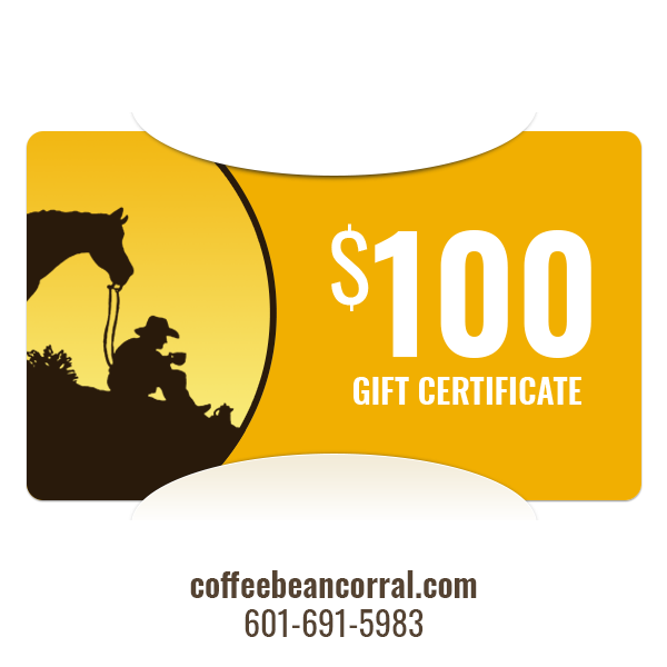 $100 Gift Certificate GIFTCERTS100