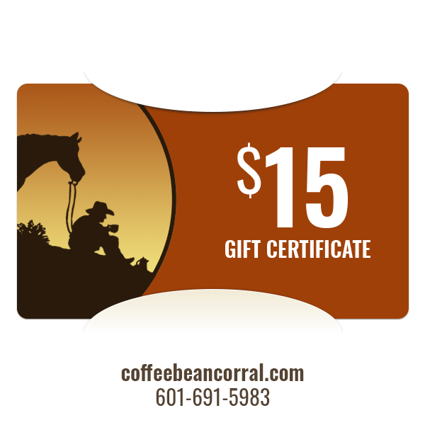 $15 Gift Certificate GIFTCERTS15