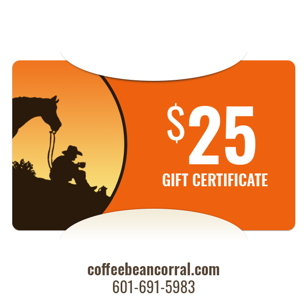 $25 Gift Certificate GIFTCERTS25
