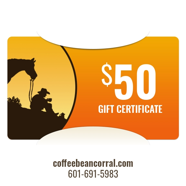 $50 Gift Certificate GIFTCERTS50