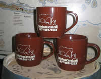 CoffeeBeanCorral.com Logo Coffee Cup - Set of 2 CBCCOFFEECUP
